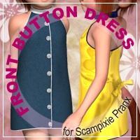 Front Button Dress