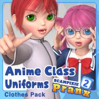 Anime Class Uniforms for Pranx 2