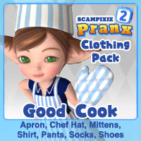 Good Cook Clothing pack