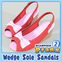 Pranx 2 Wedge Sole Sandals